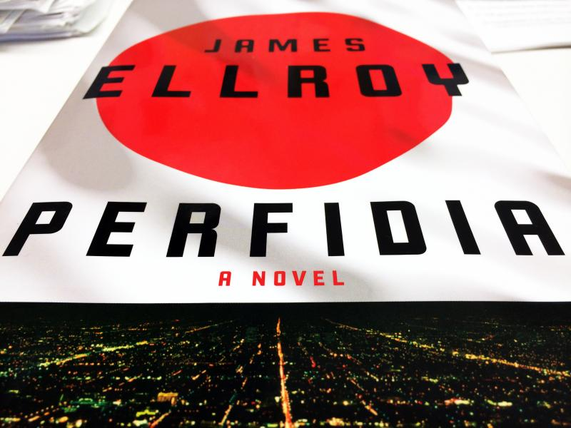 James Ellroy's latest novel, Perfidia, follows the Los Angeles Police Department's response to a brutal murder on the eve of Pearl Harbor. Filipa Rodrigues/KUT
