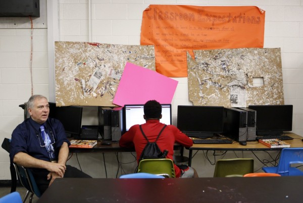 In This Dallas School, A Safe Space for Homeless Kids