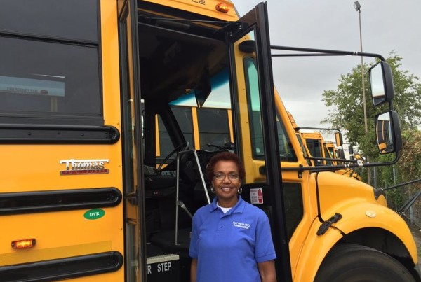 Nearly 40 Years And Counting, This Fort Worth Bus Driver Is Back For Another School Year