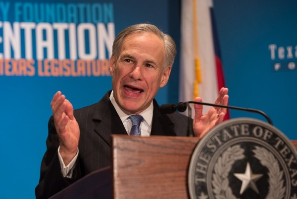 Texas Governor Greg Abbott Wants To Change the Constitution