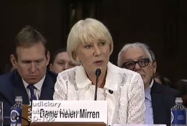 Dame Helen Mirren Calls On Senate To Pass Holocaust Art Recovery Bill