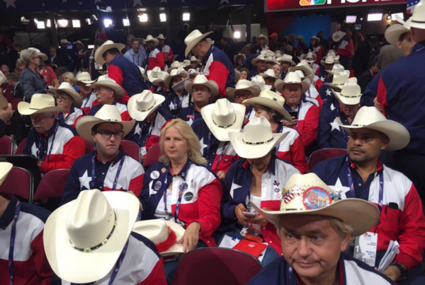 Texas Delegates Rally at the Republican National Convention