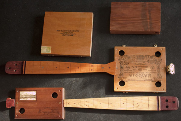 Listen to the Plucky Twang of Cigar Box Guitars