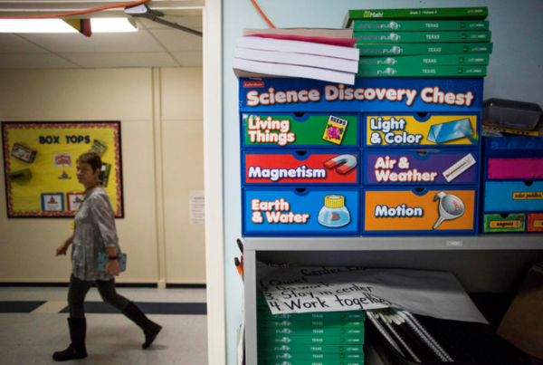 The State Board of Education Could Change How Texas Schools Teach Evolution