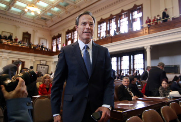Joe Straus Will Not Seek Reelection As Texas House Speaker
