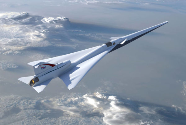 News Roundup: NASA Will Test Quieter Supersonic Flight Over Galveston