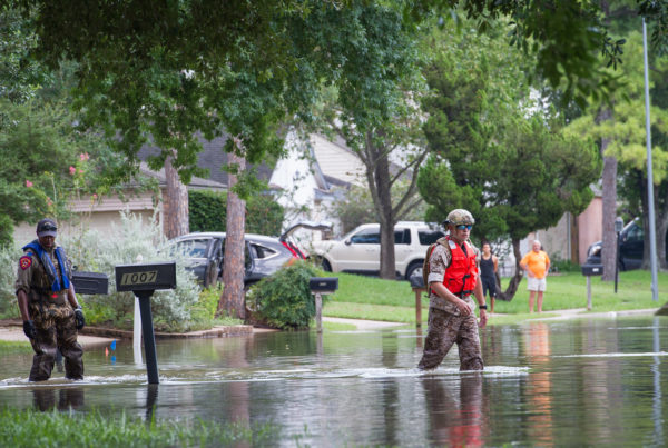 Fort Bend County Sues US Army Corps of Engineers Over Harvey-Related Flooding
