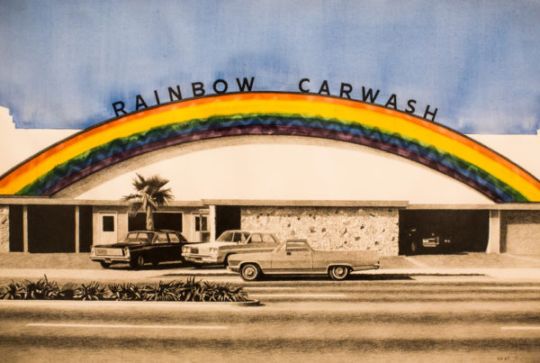 Typewriter Rodeo: Rainbow Car Wash Soap
