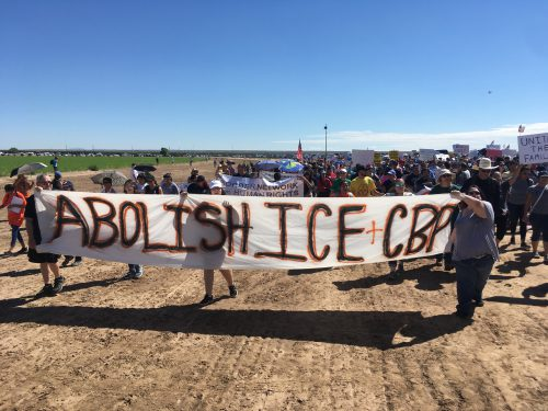 More Than 2,000 March In Tornillo To Protest Family Separation At The Border