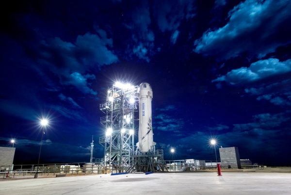 News Roundup: Another Successful Test Launch For Blue Origin, Jeff Bezos' Spaceflight Company
