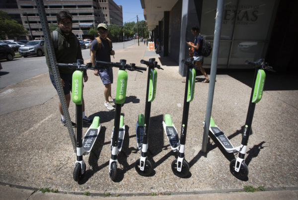 For Riders And Cities, Electric Scooters Offer Convenience And Danger