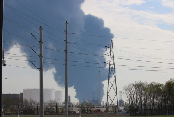 The Deer Park Chemical Fire Is Out, But Problems Linger