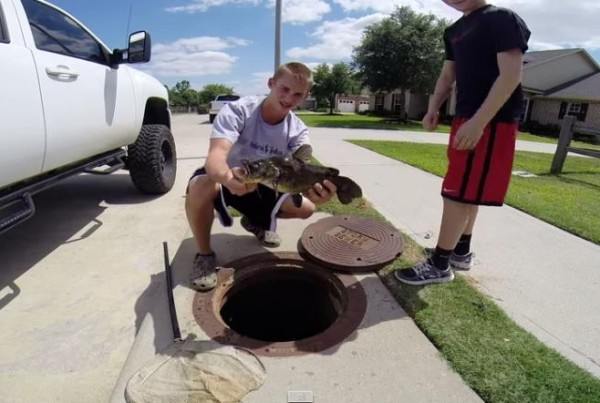 Meet the Sewer Fishing King of Katy, Texas