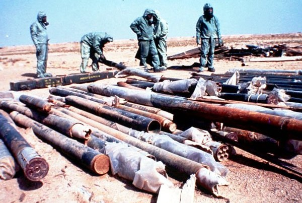 Are There Still Stockpiles of Chemical Weapons in Iraq?
