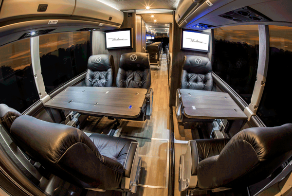 This Ain't Greyhound: The Luxury Bus That's a Texas Alternative to Rail