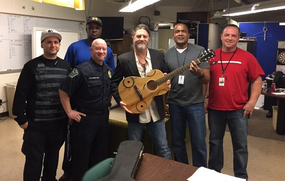 Rare, Stolen Guitar Returned to Texas Musician