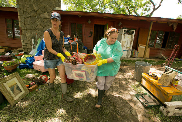 Wimberley: Picking Up the Pieces After the Floods