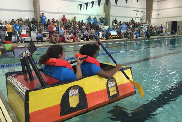 A Cardboard Canoe Regatta, And A Push For Girls In STEM