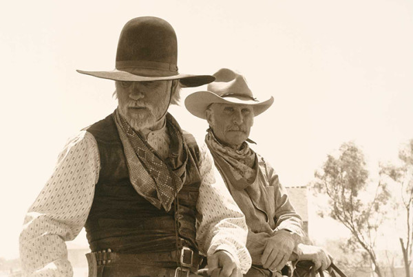 The Story Of 'Lonesome Dove' Sprawls Across These Four Books