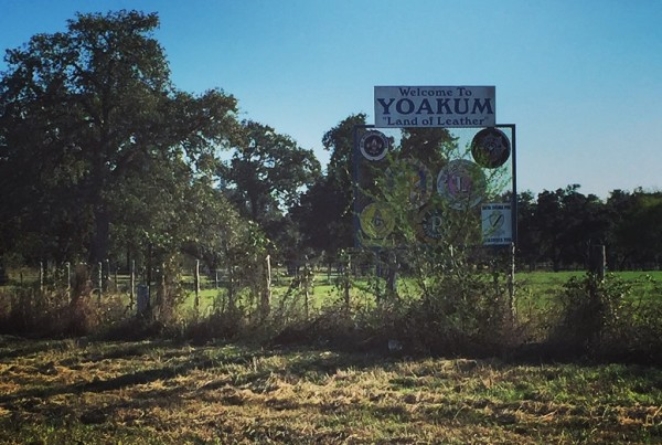 Coming Home to Yoakum, Texas