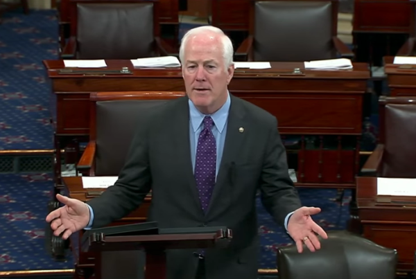 Screenshot via YouTube/Senator John Cornyn
