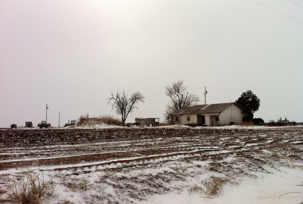 Dairy Farms Buried In West Texas Blizzard