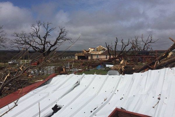 Spring Storms Bring Tornadoes to DFW, Thunder & Rain To Much of the State