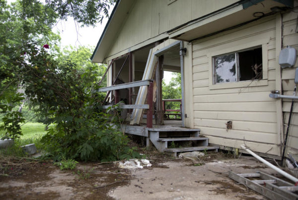 A Year After Flooding in Central Texas, Many in Martindale Are Still Waiting to Rebuild