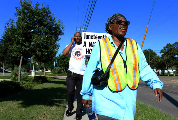 89-Year-Old's Journey For Juneteenth Is About More Than A Holiday