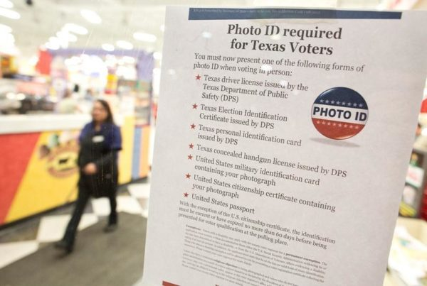 New Texas Laws For 2018: Voter ID And A Lot Of Little Tweaks