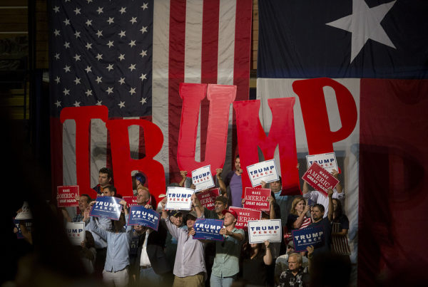 Texans Wildly Split on Trump's Performance Thus Far