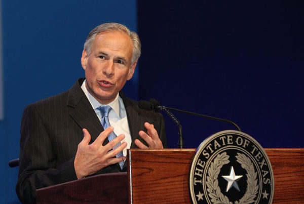 Greg Abbott Is Eager To Sign The 'Sanctuary Cities' Bill Into Law