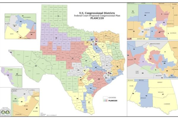 Could A San Antonio Federal Panel Resolve Texas' Redistricting Issue After Six Years?