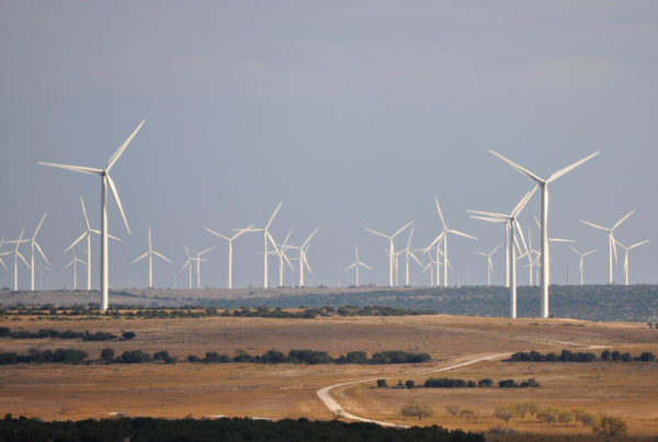 Could A Push To Export Texas' Renewable Energy Be Getting A Second Wind?