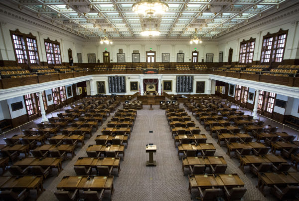 Could Texas Democrats Thwart The Special Session By Breaking Quorum And Skipping Town?