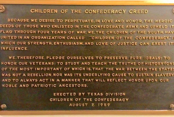 House Speaker Joe Straus Seconds Call to Remove Confederate Plaque