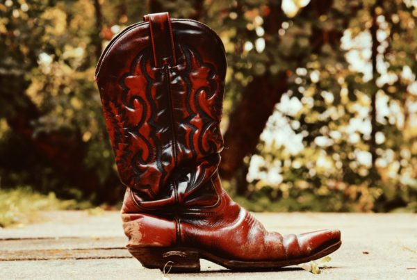This Attorney's Red Cowboy Boots Say She Means Business