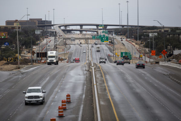 Freezing Rain And Even A Little Snow Shut Down Many Parts Of Texas
