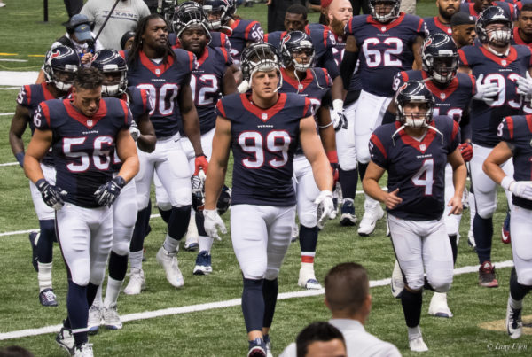 News Roundup: NFL Honors Houston Texan JJ Watt For Harvey Relief Efforts