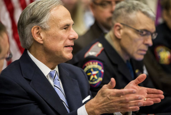 Greg Abbott Proposes Plan To Address School Gun Violence