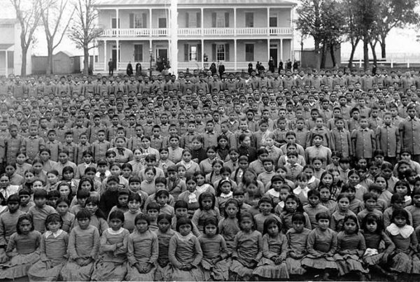 For Survivors Of Native American Boarding Schools, Family Separation Is Nothing New