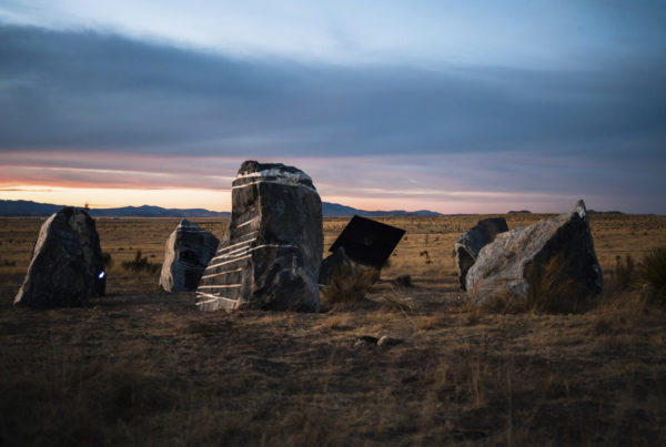 This West Texas Sculpture Comes To Life At The Full Moon