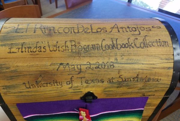 UTSA Staff Recipes Preserved In Special Collections