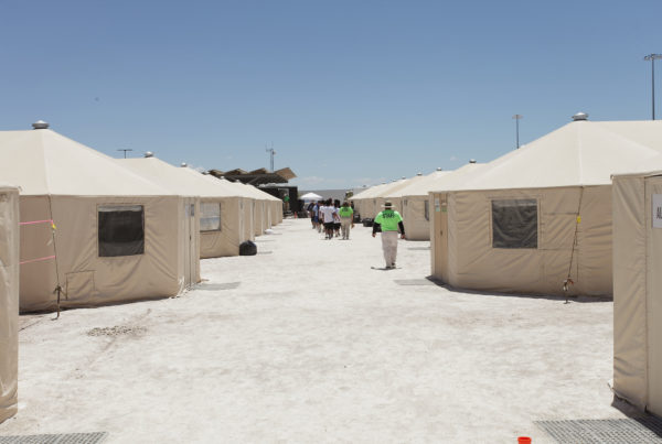 The Temporary Tornillo 'Tent City' For Immigrant Kids Will Stay Open Through 2018