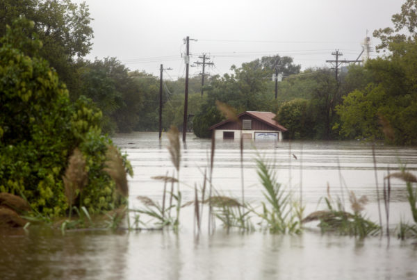 In Marble Falls, Evacuees Wonder What's Next After Flooding