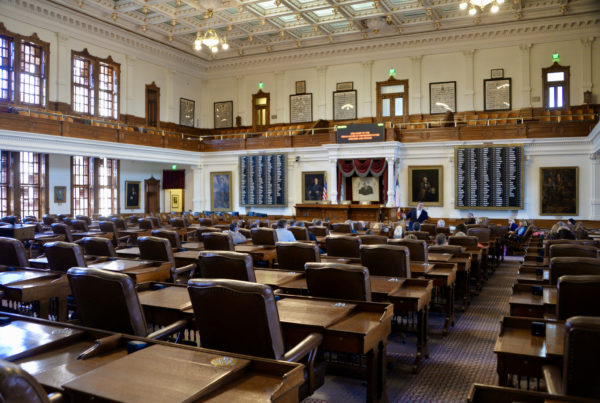 Bill Filing For 2021 Texas Session Begins With Legislation On Abortion, Police Stops And Redistricting