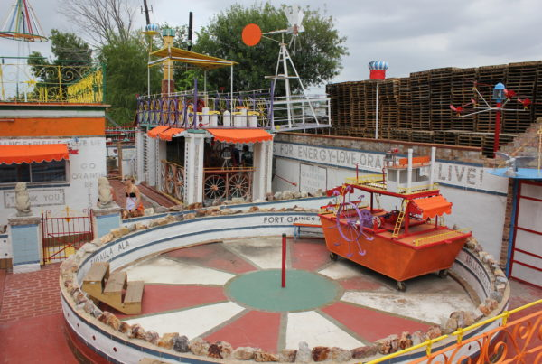 Houston's 'Orange Show' Art Environment Started With Fixation On A Fruit