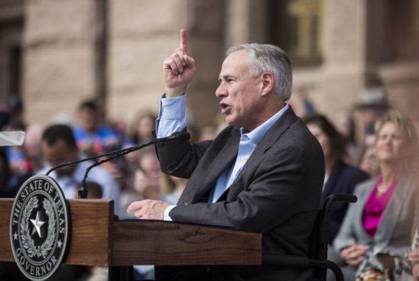 News Roundup: Quinnipiac Poll Surveys Texas Voters On Greg Abbott, Roe Vs. Wade