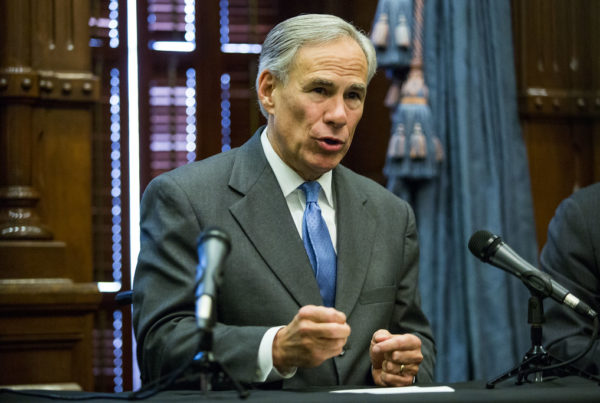 Greg Abbott Will Decide Which Bills To Veto And Which To Sign, Over The Next Two Weeks
