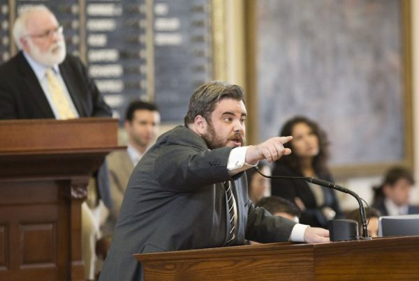 Jonathan Stickland Says He Won't Run For Reelection To The Texas House